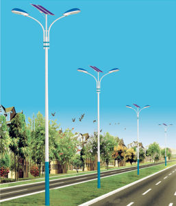 LED Street Light with Solar Power