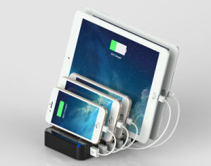 Quick Charger 2.0 Charging Station Dock 5 Port USB Charger pictures & photos