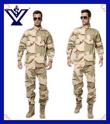 Handsome Black Military Police Uniform (SYSG-236) pictures & photos