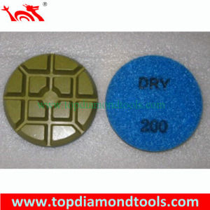 "3"" Concrete Floor Resin Diamond Polishing Pad pictures & photos"