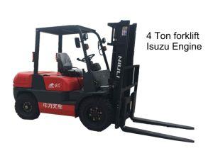 4.0 Ton Diesel Forklift Truck with Isuzu Engine pictures & photos
