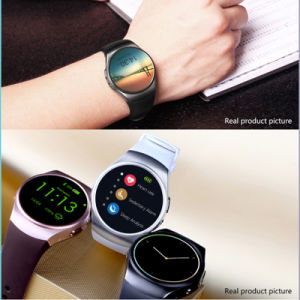 Round Screen Heart Rate Monitor Smart Watch pictures & photos