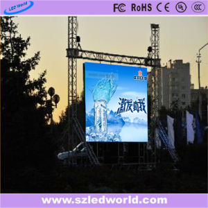 Good Uniformity P6.6 Outdoor Seamless LED Panle/LED Screen (CE) pictures & photos