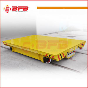 Easy Operated High Speed Motorized Transporter Cart on Rails pictures & photos