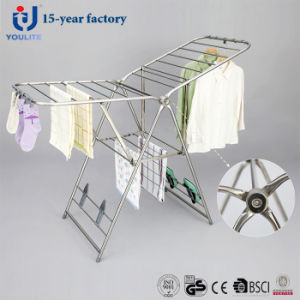 Luxury Stainless Steel Foldable Clothing Drying Rack pictures & photos