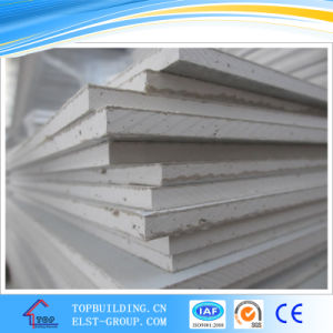 Gypsum Ceiling Tile with Embossed PVC Film pictures & photos