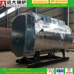 Horizontal Gas Oil Fired 8ton/Hr Steam Heater Wns Superheated Cheap Steam Boiler pictures & photos