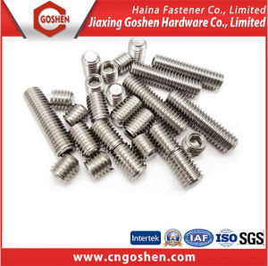 Hexagon Socket Set Screws with Cup Point DIN916 pictures & photos