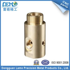 Custom CNC Lathe Parts of Fitting with Brass Made in China pictures & photos