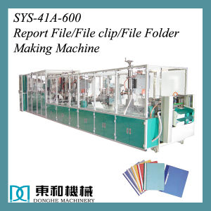 PP Quotation Folder Making Machine pictures & photos