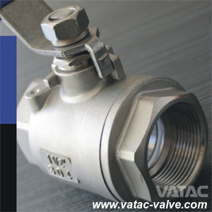 1000wog & 2000wog Screwed/Threaded NPT/Bsp Ball Valve From Ss304 or Ss316 pictures & photos