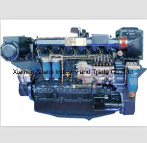 Weichai Wp12c Series High Speed Marine Diesel Engine pictures & photos