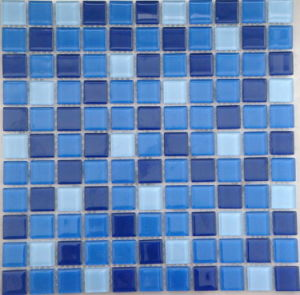 Hot Sale Wholesale Price Glass Mosaic Tile for Swimming Pool, Kitchen, Bathroom pictures & photos
