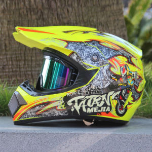 Motorcycle Helmet, Open/Full Face Helmet (MH-001) pictures & photos