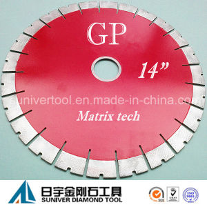"""Gp 14""""*25mm High Quality Edge Cutting Blade pictures & photos"""