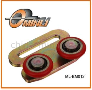 Customized Punching Pulley with Double Roller (ML-EM012) pictures & photos