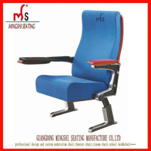 Top Aluminum Alloy Auditorium Chairs with PP Writing Table (ms-332)