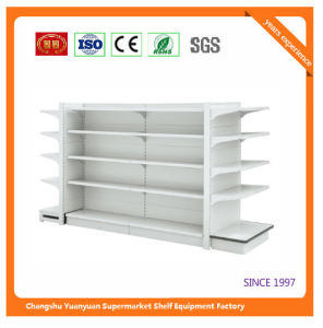 Good Quality Punched Retail Shelf Store Fixture Shop Fittings 07293 pictures & photos