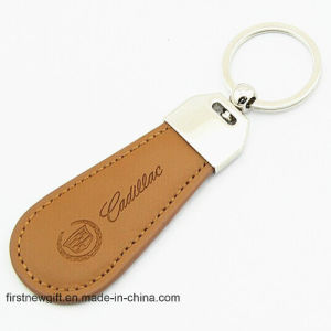 Promotional Gift Laser Logo Oval Key Ring Metal Keychain (F1368) pictures & photos
