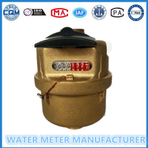 Brass Volumetric Rotary Piston Water Meter of Dn15-25mm pictures & photos