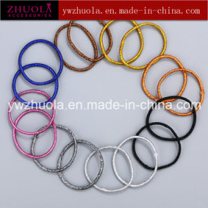 Glitter Elastic Hair Tie for Decoration pictures & photos