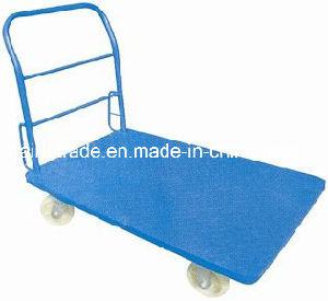 Storage Hand Push Cart Platform Truck/Hand Cart pictures & photos