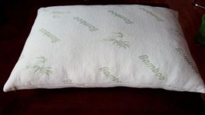 Shredded Memory Foam with Bamboo Fiber Cover Pillow pictures & photos