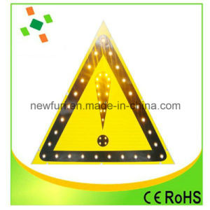 Waterproof Reflective Triangle Aluminum Warning Sign pictures & photos