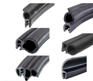 Custom Extruded Sunroof EPDM Rubber Seal pictures & photos