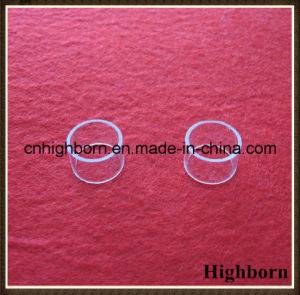 Polishing Small Size Transparent Quartz Glass Rings Flange pictures & photos