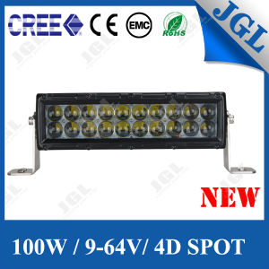 100W Super 4D LED Light Bar Offraod Auto Vehicles Lights