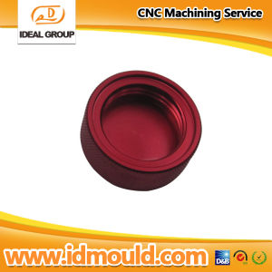 Aluminum CNC Machining Parts with Polish and Red Anodizing pictures & photos