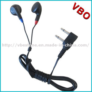 Dual Pin Cheap Earphones Bus Disposable Headphone Airline Headset pictures & photos