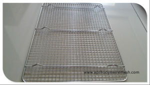"Stainless Steel 304 Chrome Plate 12""X17"" Cooling Rack pictures & photos"