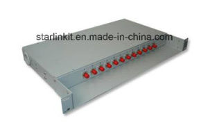 12 Port Rack Mounted ODF Fiber Patch Panel pictures & photos