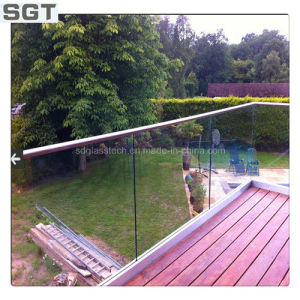 5mm Clear Laminated Balcony/Swimming Pool Fence pictures & photos