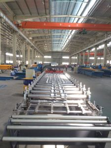 Trapezoidal Steel Sheet Roll Forming Machine pictures & photos