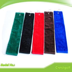 Cheap Wholesale 100% Cotton Golf Towel