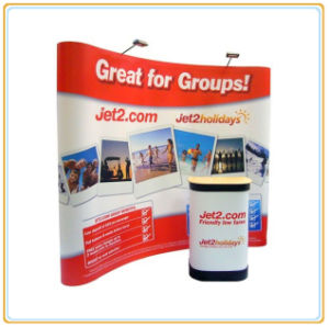 Free Standing Portable 10ft Magnetic Pop up Display Banner pictures & photos