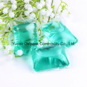 OEM&ODM, Concentrated and Water Souble Film Washing Liquid Detergent Pod, Liquid Detergent Capsule, Laundry Liquid Detergent Pod pictures & photos