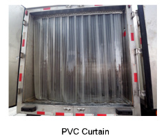 PVC Air Curtain for Cold Room pictures & photos