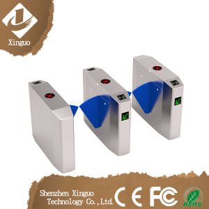 Stainless Steel Flap Barrier for Gym / Gate Turnstile Gates for Gym pictures & photos