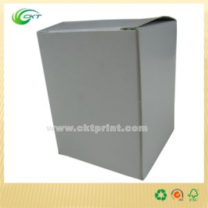 White Cardboard Box with Custom Design (CKT-CB-370)