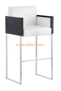 (SD-1006) Modern Hotel Steel Leg PU Leather Upholstery Restaurant Dining Chair pictures & photos