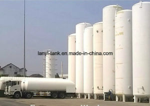 Good Quality Lox, Lar Lin Staineless Steel Storage Tank with Good Valves Approved by ASME pictures & photos