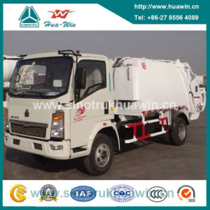 Sinotruk HOWO 4X2 Compressor Garbage Truck pictures & photos