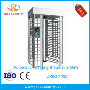 Economical Security Semi-Automatic Access Control Full Height Turnstile pictures & photos