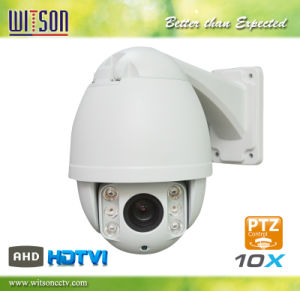HD CCTV Ahd Tvi 10X Zoom Weatherproof PTZ High Speed Dome Camera pictures & photos