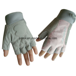 Simple Gym Bicycle Half Finger Cycling Padding Bike Sports Glove pictures & photos