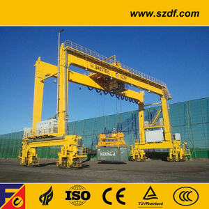 Rubber Tyre Container Mobile Gantry Crane (RTG crane) pictures & photos